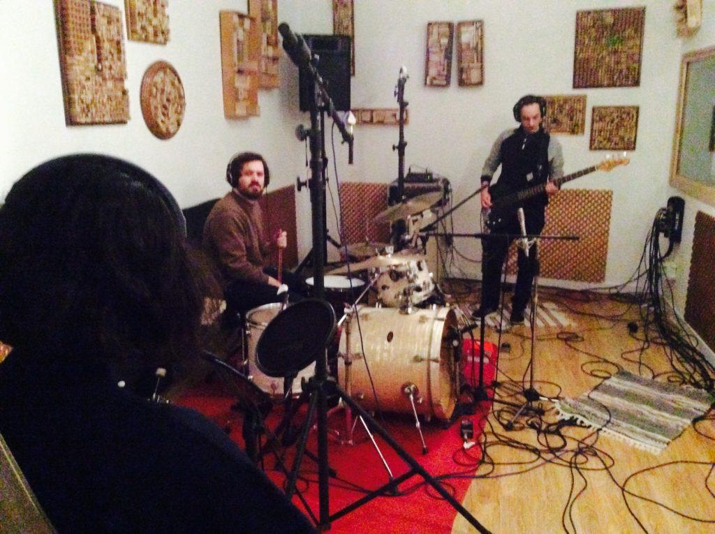 Nuevo disco de Estruç, grabación en directo